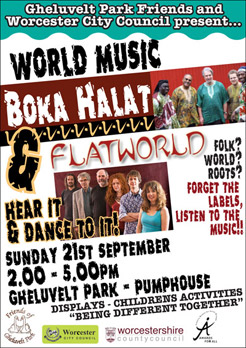 World Music in the Park, Worcester